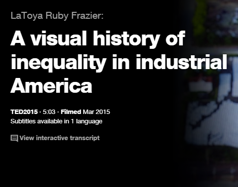 TEDの英語プレゼンでリスニング A visual history of inequality in industrial America