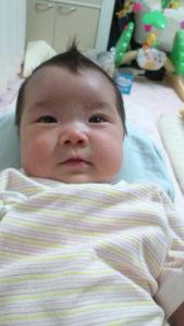 赤ちゃんの髪には優しく