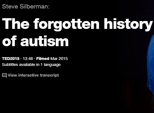TEDの英語プレゼンでリスニング The forgotten history of autism