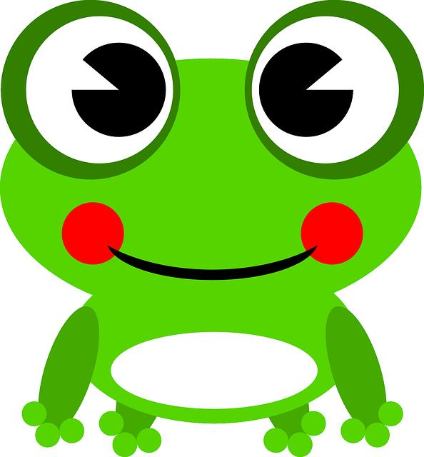 カエルを使った7つの英語表現