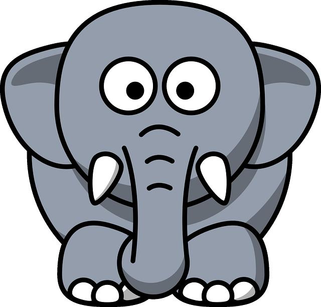 象の英語表現