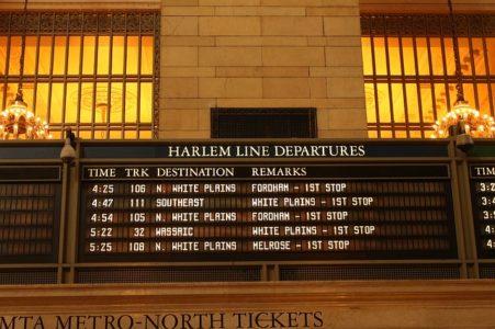 電車の時間を調べる