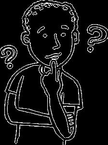 「悩む」を意味する英語表現